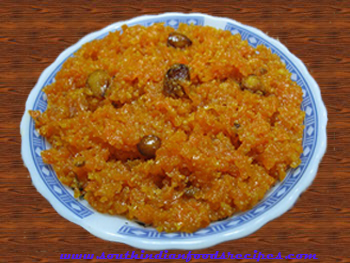 carrot-papaya-halwa image